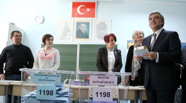 Cumhurbaşkanı Gül : Millet, Görüşlerini Oy Sandığında İfade Ediyor