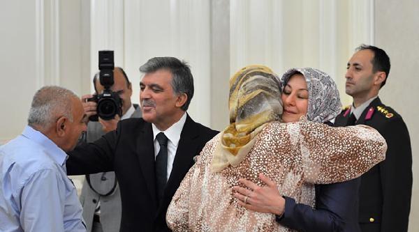 Cumhurbaşkanı Gül, Şehit Aileleri Ve Gazilerle İftar Yaptı