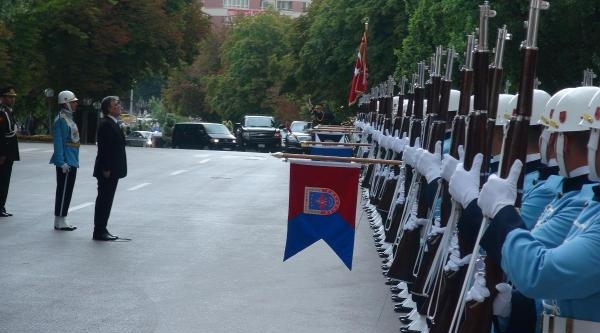 Cumhurbaşkanı Gül, Tbmm Başkanı Çiçek'i Ziyaret Etti