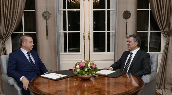 Cumhurbaşkani Gül Ve Başbakan Erdoğan Çankaya Köşkü'nde Görüştü