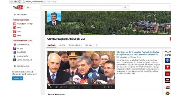 Cumhurbaşkanı Gül Youtebe Yasağını Deldi