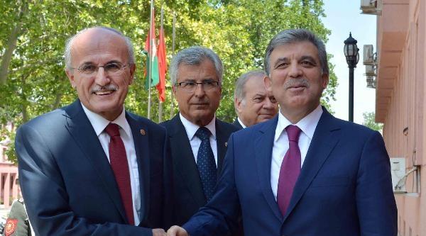 Cumhurbaşkanı Gül'den Anayasa Mahkemesi, Yargıtay Ve Danıştay Başkanlarına Veda Ziyareti