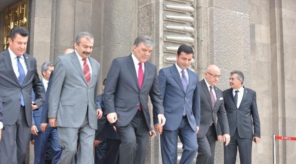 Cumhurbaşkanı Gül'den Hdp'ye Veda Ziyareti  / Ek Fotoğraflar