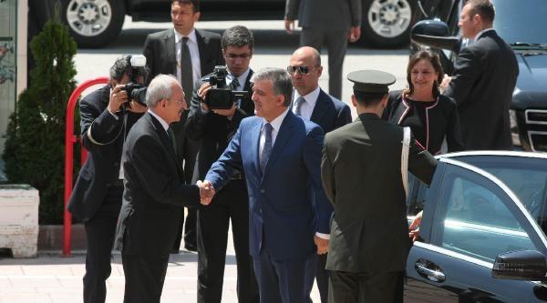 Cumhurbaşkanı Gül'den Kılıçdaroğlu'na Veda Ziyareti