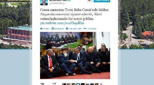 Cumhurbaşkani Gül'den Twitter'da Erzincan Ve Gümüşhane Gezisi Paylaşimlari