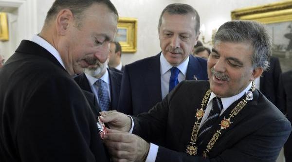 Cumhurbaşkani Gül'e, 'haydar Aliyev Nişani' Tevcih Edildi