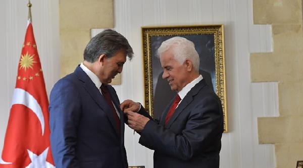 Cumhurbaşkanı Gül'e Kktc Devlet Nişanı