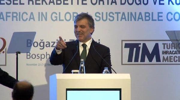 Cumhurbaşkani Gül'e Prompter Sürprizi
