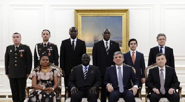 Cumhurbaşkanı Gül'ün Kabulleri