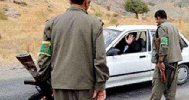 Cumhuriyet Savcısı, PKK'nın Yol Kontrolüne Takıldı!