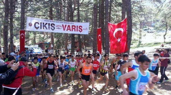 Dağ Koşusu Milli Takım Seçmeleri Murat Dağı'nda Yapıldı
