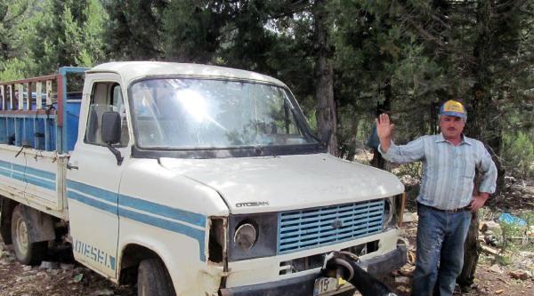 Dağdaki Hurda Kamyonete Ogs İhlali Cezası