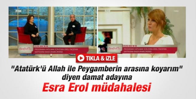 Damat adayı: Atatürk Peygamber'den önce gelir!