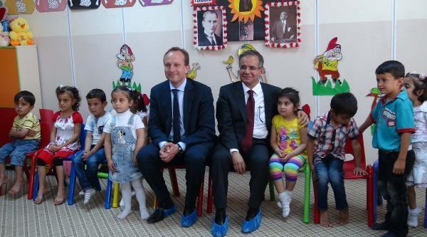 Danimarka Dışişleri Bakanı Lıdegaard Kilis'te