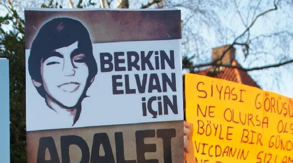 Danimarka'da Berkin Elvan Eylemi