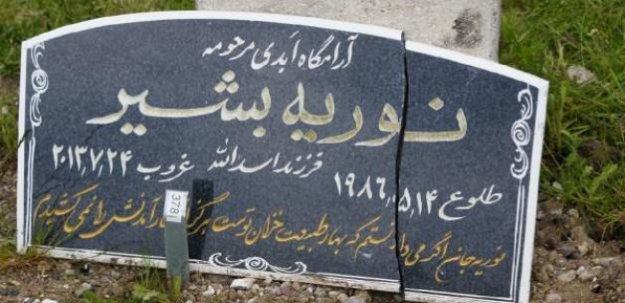 Danimarka'da Müslüman mezarlığına saldırı....