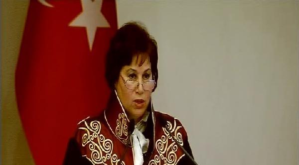 Danıştay Başkanı Güngör: Hukuka Ve Adalete, Yargıya Olan Güveni Sarsıcı Niteliktedir