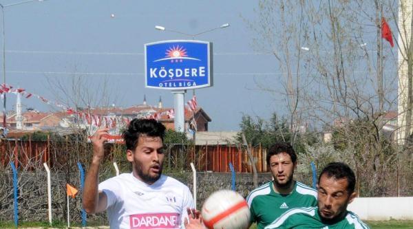 Dardanelspor-hatayspor: 1-1