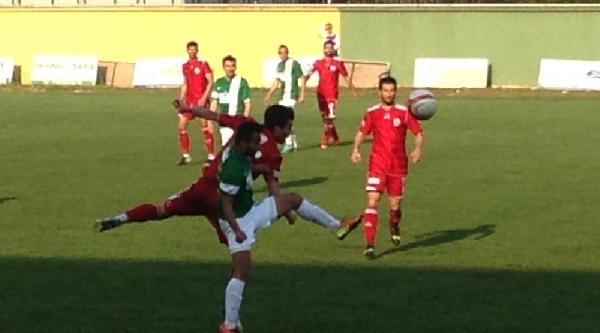 Darıca Gençlerbirliği-orhangazispor: 0-1