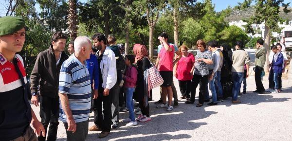 Datça'da 49 Kaçak Yakalandı