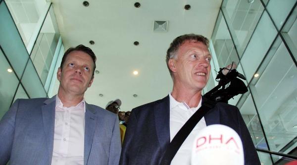 David Moyes Manchester'e Döndü