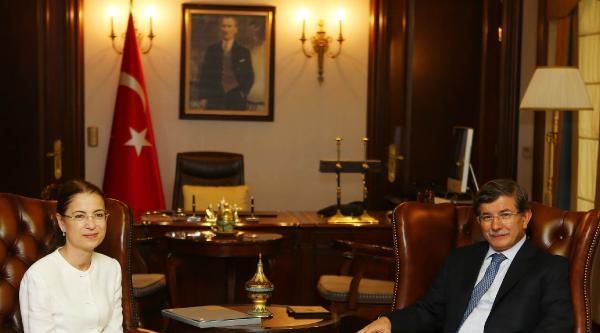 Davutoğlu, Bakan İslam'i Kabul Etti