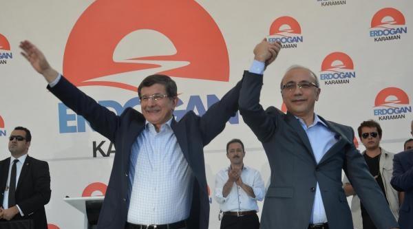 Davutoğlu: Bu Millete Çifte Standartla Devlet Başkanı Olmaz