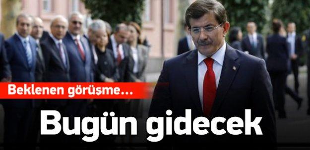 Davutoğlu, Erdoğan ile bugün görüşecek