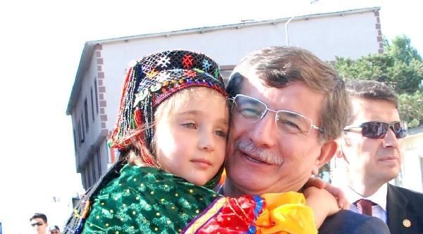 Davutoğlu Kars'ta 'sayın Başkanım' Diye Karşılandı (2)