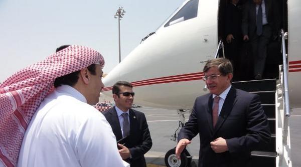 Davutoğlu, Katar'da