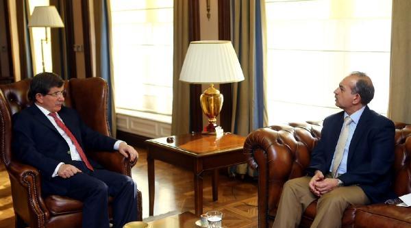 Davutoğlu, Kerkük İl Meclis Başkanı Turan'ı Kabul Etti