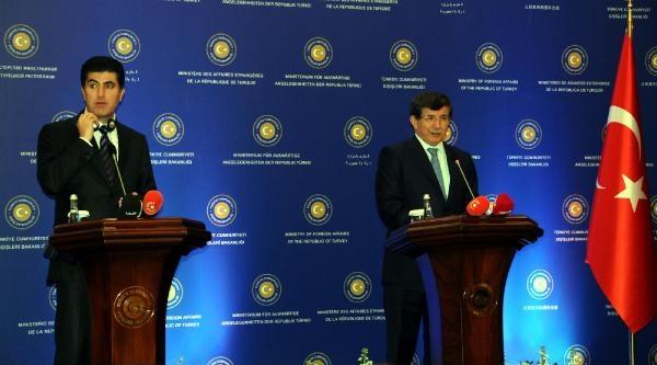 Davutoğlu, Neçirvan Barzani İle Görüşmede Açıkladı: Psikolojik Duvarları Yıkacağız (2)
