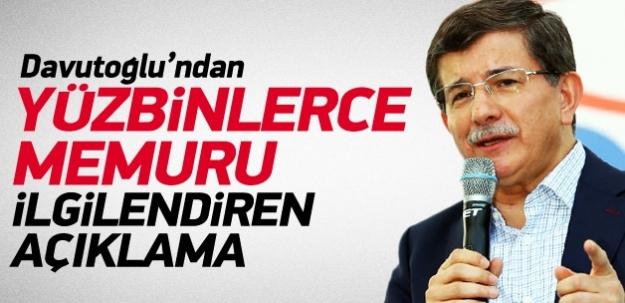 Davutoğlu: Personel sistemi gözden geçirilecek