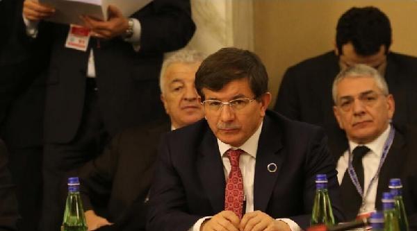 Davutoğlu Roma'da Uluslararası Libya Konferansı'na Katıldı