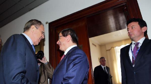 Davutoğlu, Rusya Dışişleri Bakanı Lavrov İle Görüştü / Ek Fotoğraflar