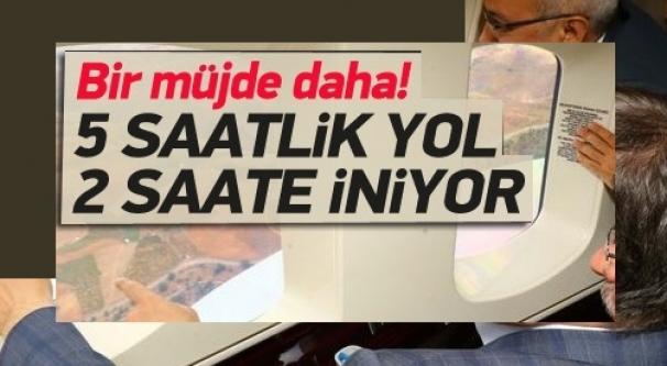 Davutoğlu talimatı verdi: Mesafe 2 saate düşüyor