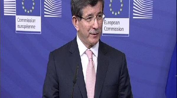 Davutoğlu: Türk Halki En 3.5 Yil Içinde, Vize Muafiyeti Imkanina Kavuşacaktir