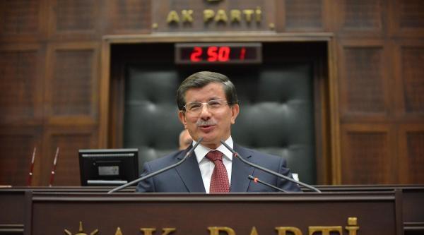 Davutoğlu'ndan Milletvekillerine: Sizce Sapma Olursa Gelip Konuşmanız Gereken Benim / Ek Fotoğraflar