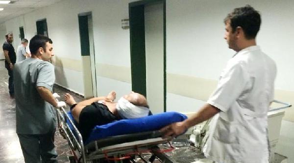 Dayısını Ağaç Motoru İle Yaraladı
