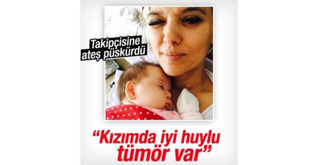 Demet Akalın'ın kızı Hira'da tümör çıktı