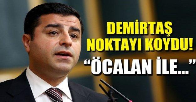 Demirtaş açıkladı: Öcalan ile fikir ayrılığı var mı?