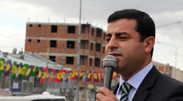 Demirtaş: Arkamızda Fethullah Gülen Cemaati, Şu, Bu Yok