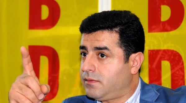 Demirtaş: Başbuğ'un Tutuklanması Gibi Bırakılması Da Siyasi Oldu