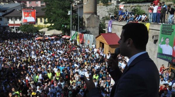 Demirtaş: Erdoğan'ın Mal Beyanı Gerçeği Yansıtmıyor
