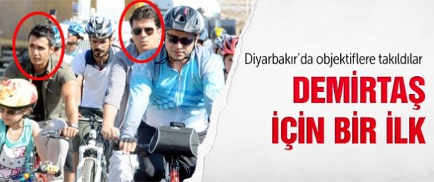 Demirtaş için bir ilk! Diyarbakır'da görüntülendi