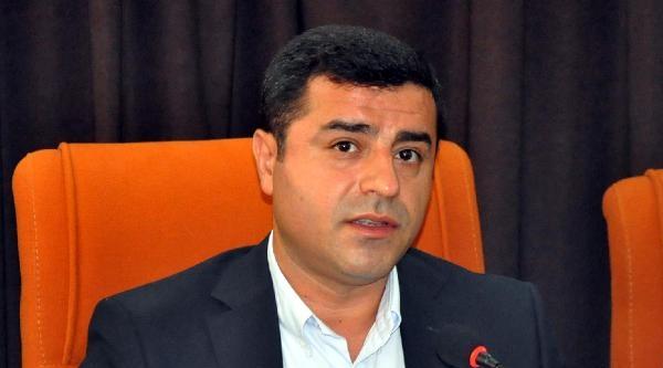 Demirtaş, Işid'e Karşı 'kürt Ordusu' Önerdi