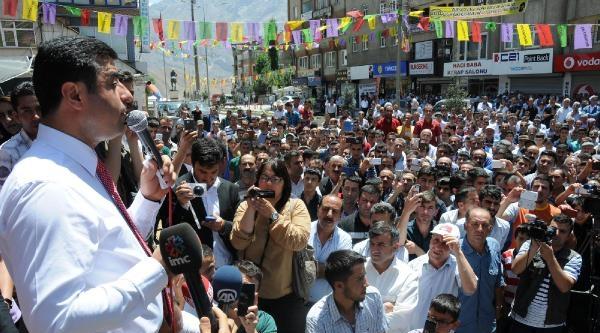 Demirtaş: Neden Bir Kürt Cumhurbaşkanı Olmasın