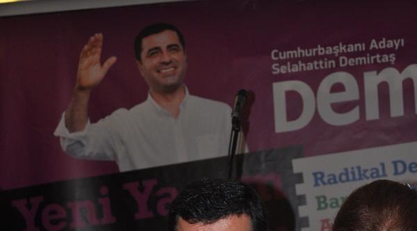 Demirtaş'ın Dili Sürçtü: 'ekmeloğlu' Dedi (2)