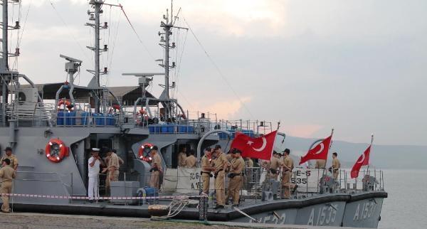 Deniz Harp Okulu Öğrencileri Bandırma'da