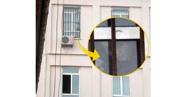 Deniz Seki hastane penceresinde görüntülendi